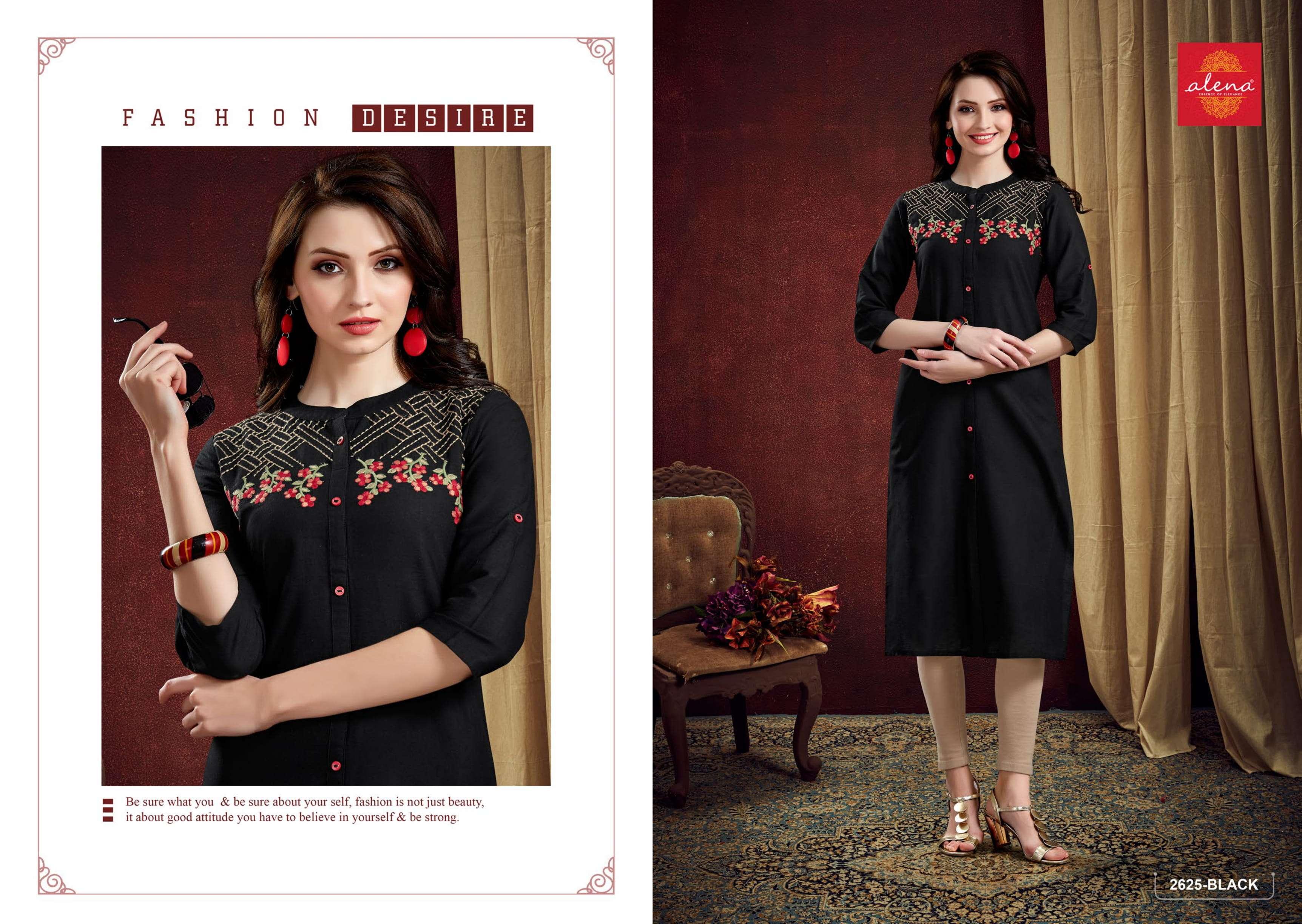 Alena Presenting Micro Exclusive Designer Kurti Collection