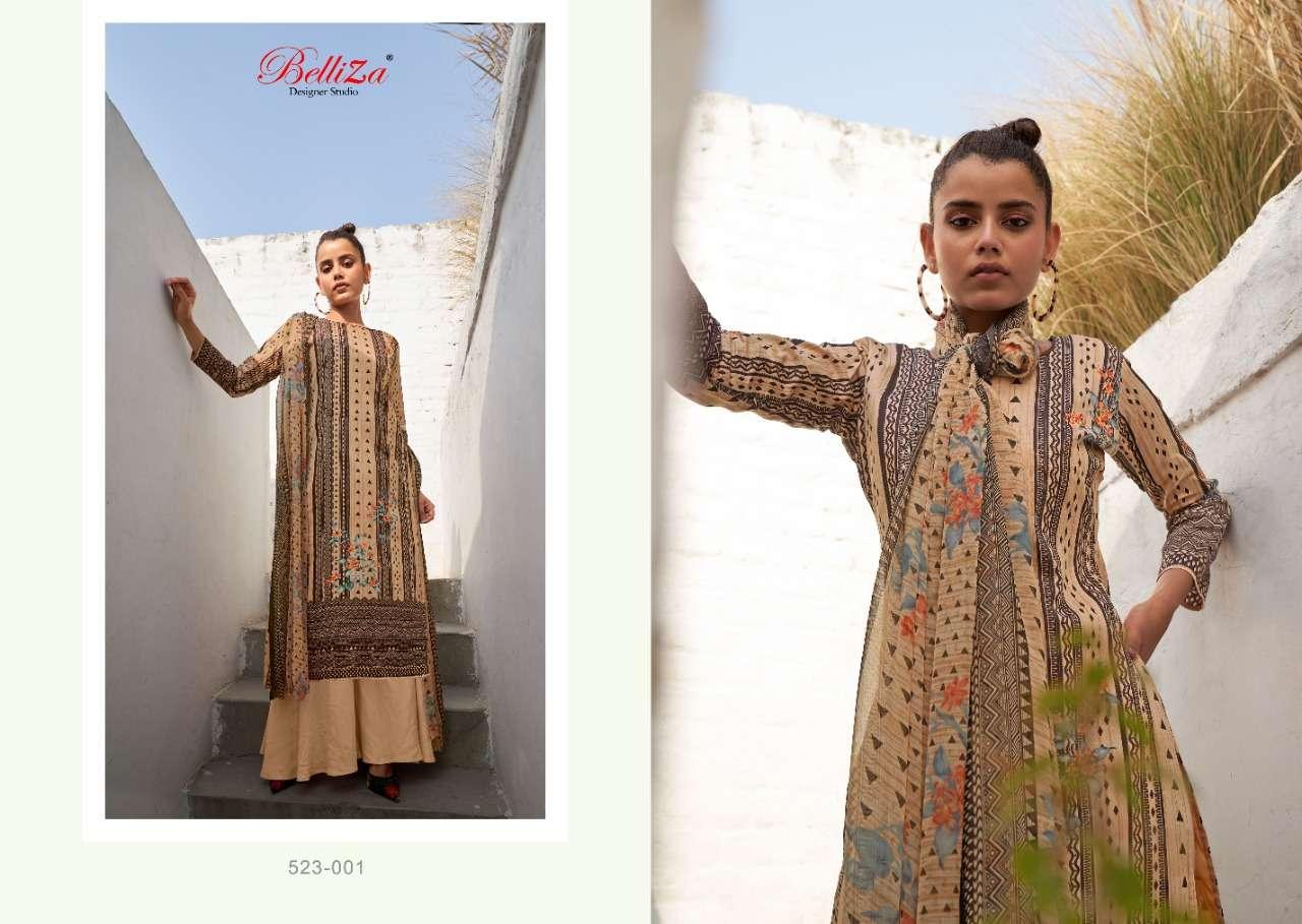 Belliza Elicia 2 Digital Printed Designer Dress Material Collection