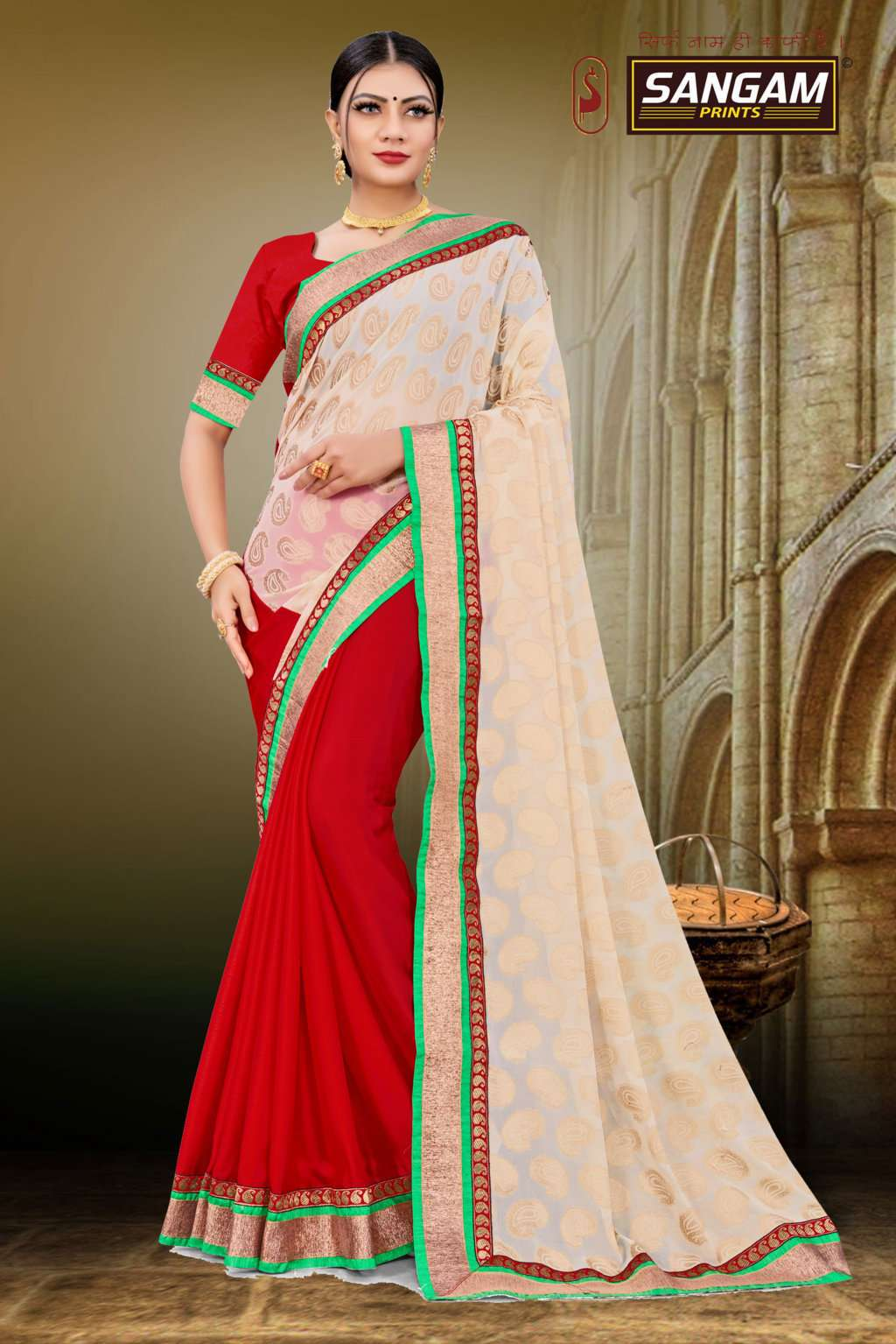 Sangam Kaashi 3 Casual Wear Georgette Sarees Collection
