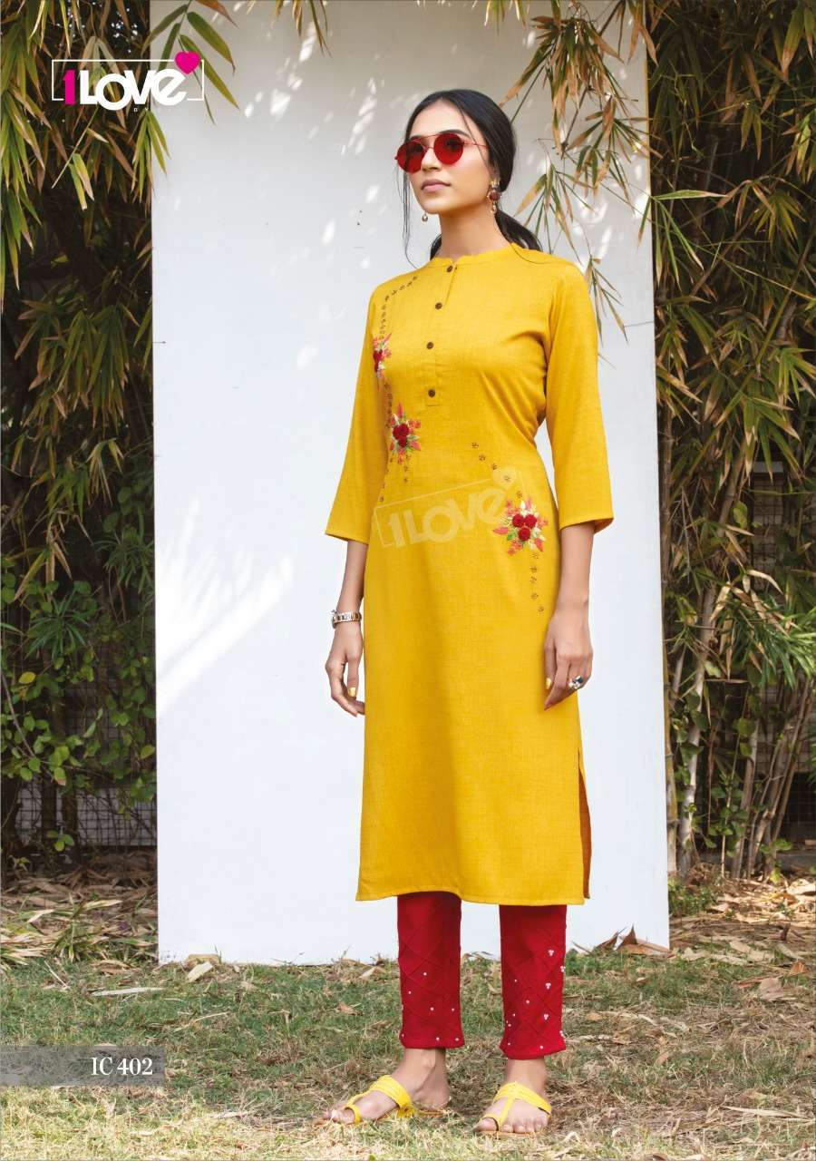 Shivali Presenting Indi Chic Vol-4 Casual Wear Kurti With Bottom Collection