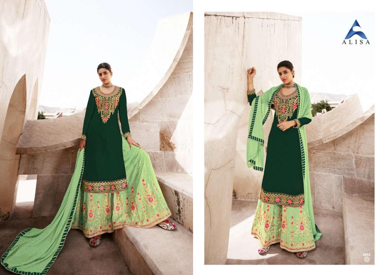 Alisa Maira Exclusive Sharara Style Salwar Kameez Collection