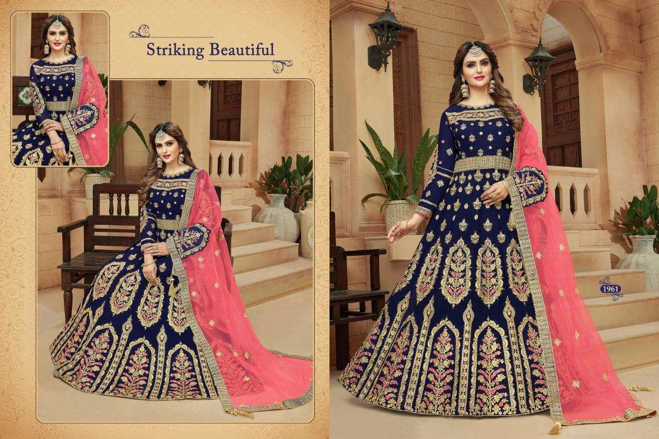 AM Creation Mastani Designer Heavy Work Anarkali Salwar Kameez Collection