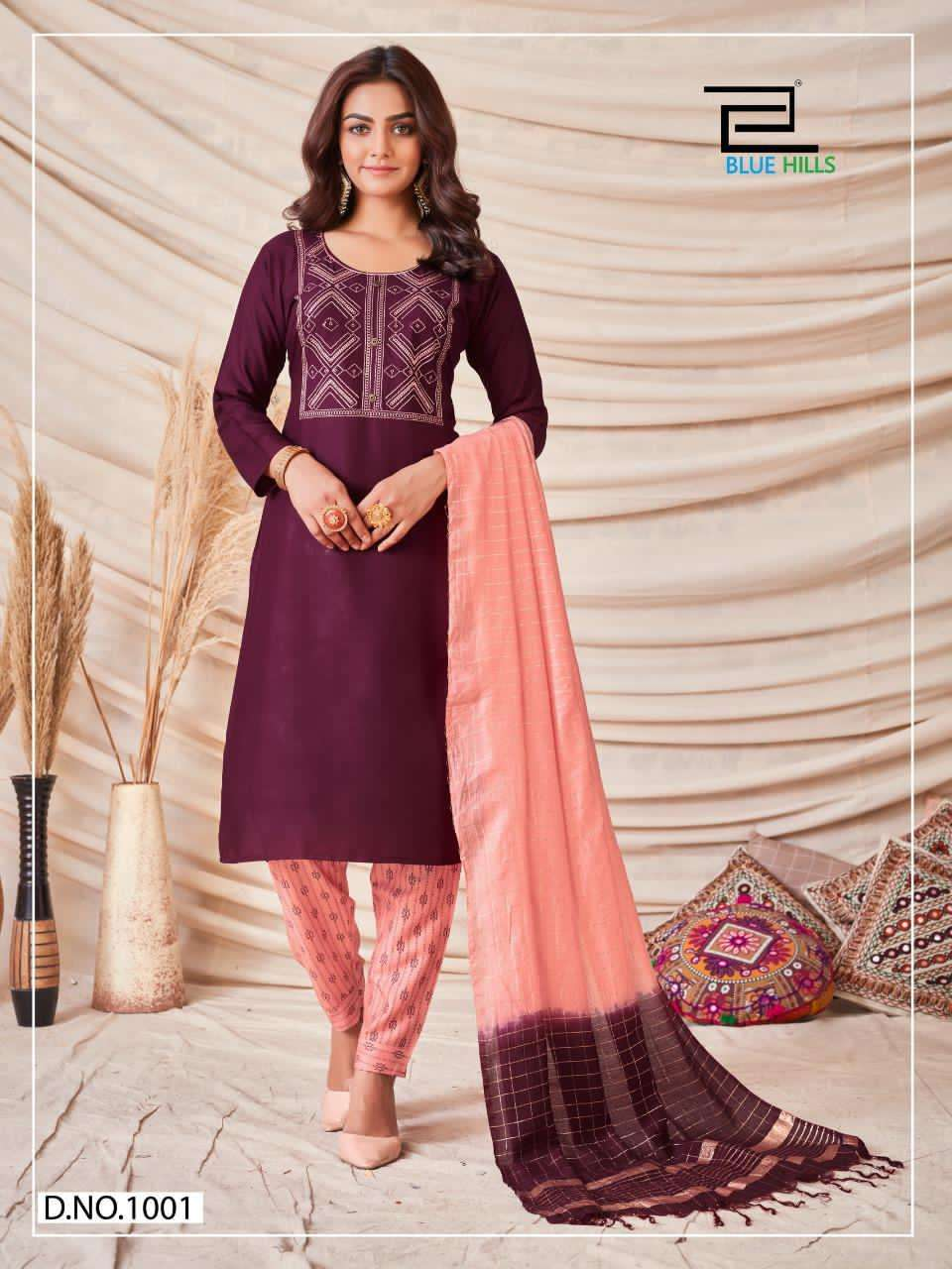 Blue Hills SkyLine 1 Casual Wear Readymade Collection