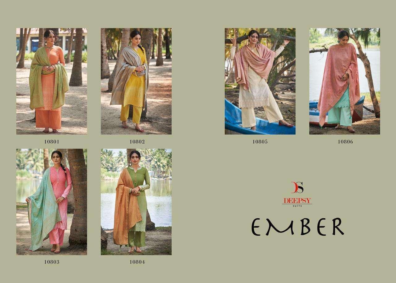 Deepsy Ember Designer Cotton Salwar Kameez Collection