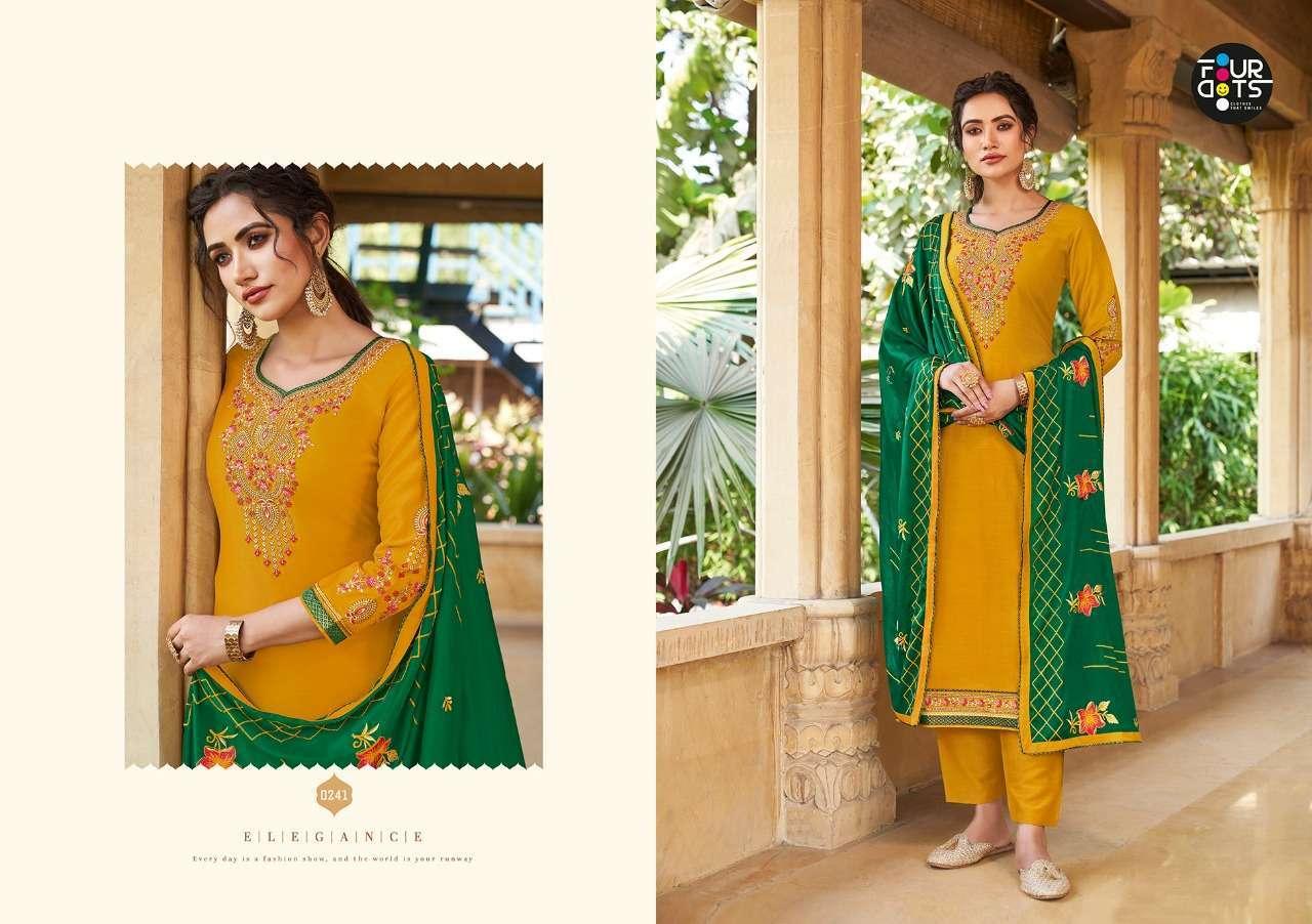 Four Dots Sangam Vol-3 Exclusive Silk Salwar Suit Collection