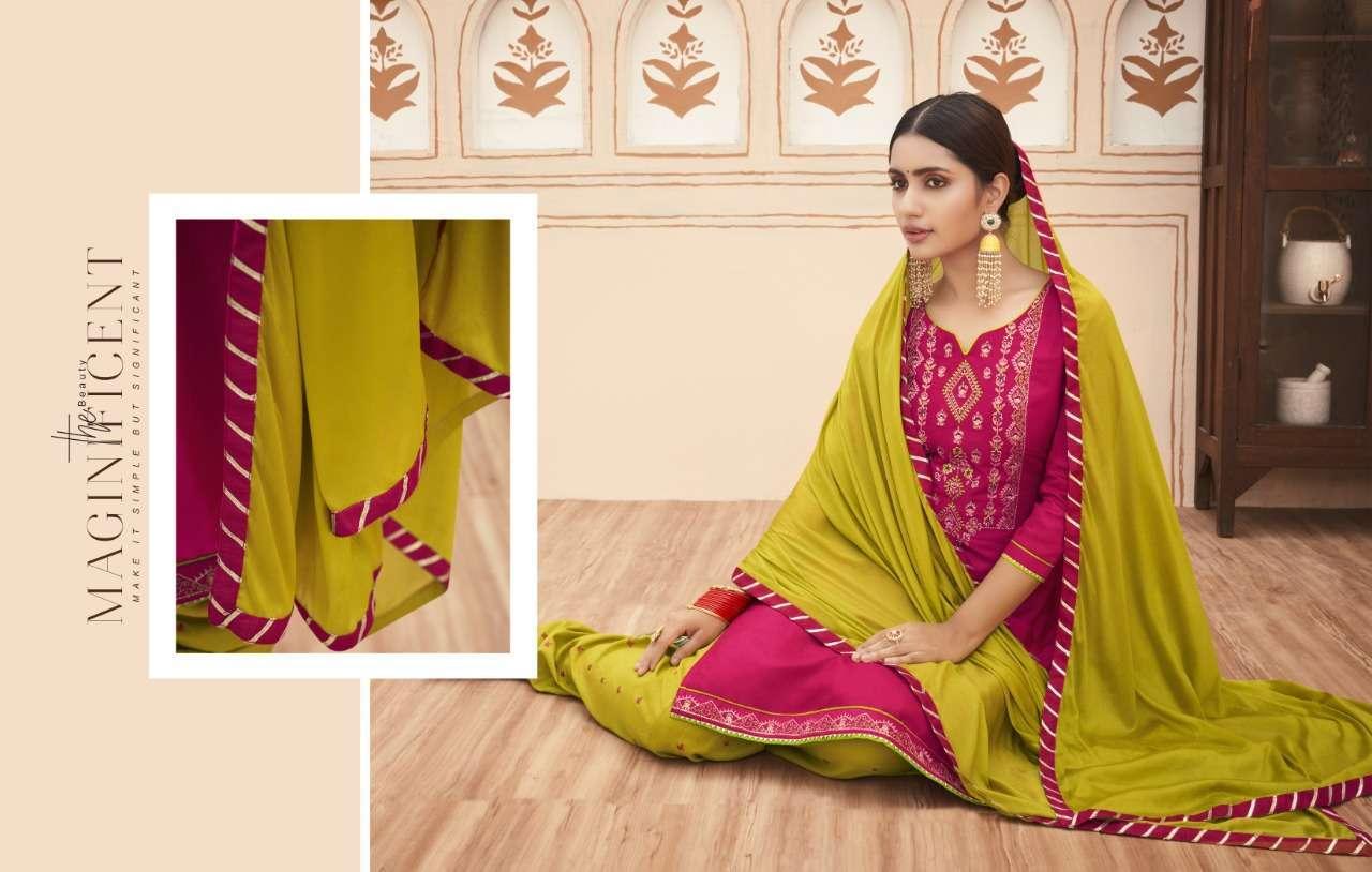 Kalaroop Rich Patiyala By Kajree Readymade Patiyala Suit Collection