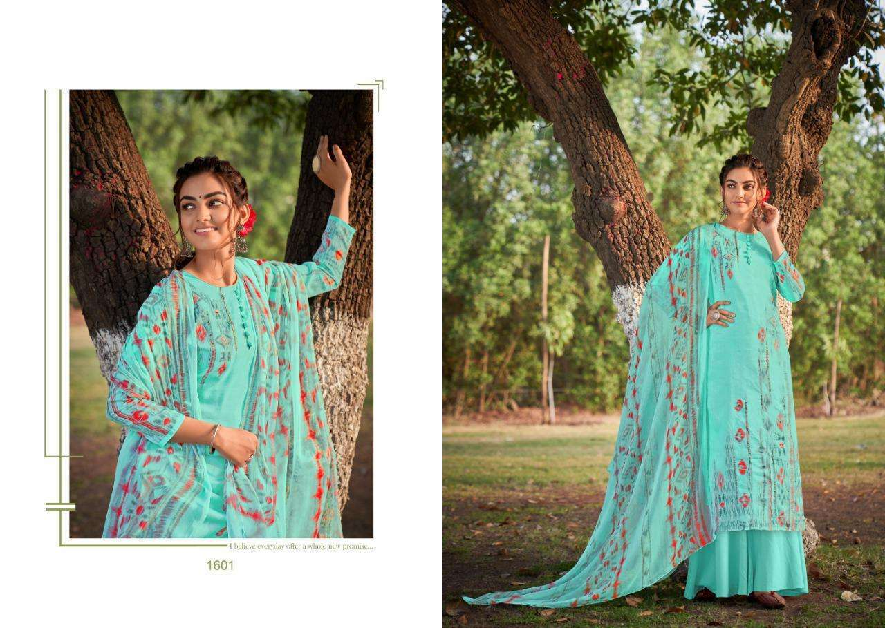 Kayvee Inara Printed Cotton ladies Suit Collection
