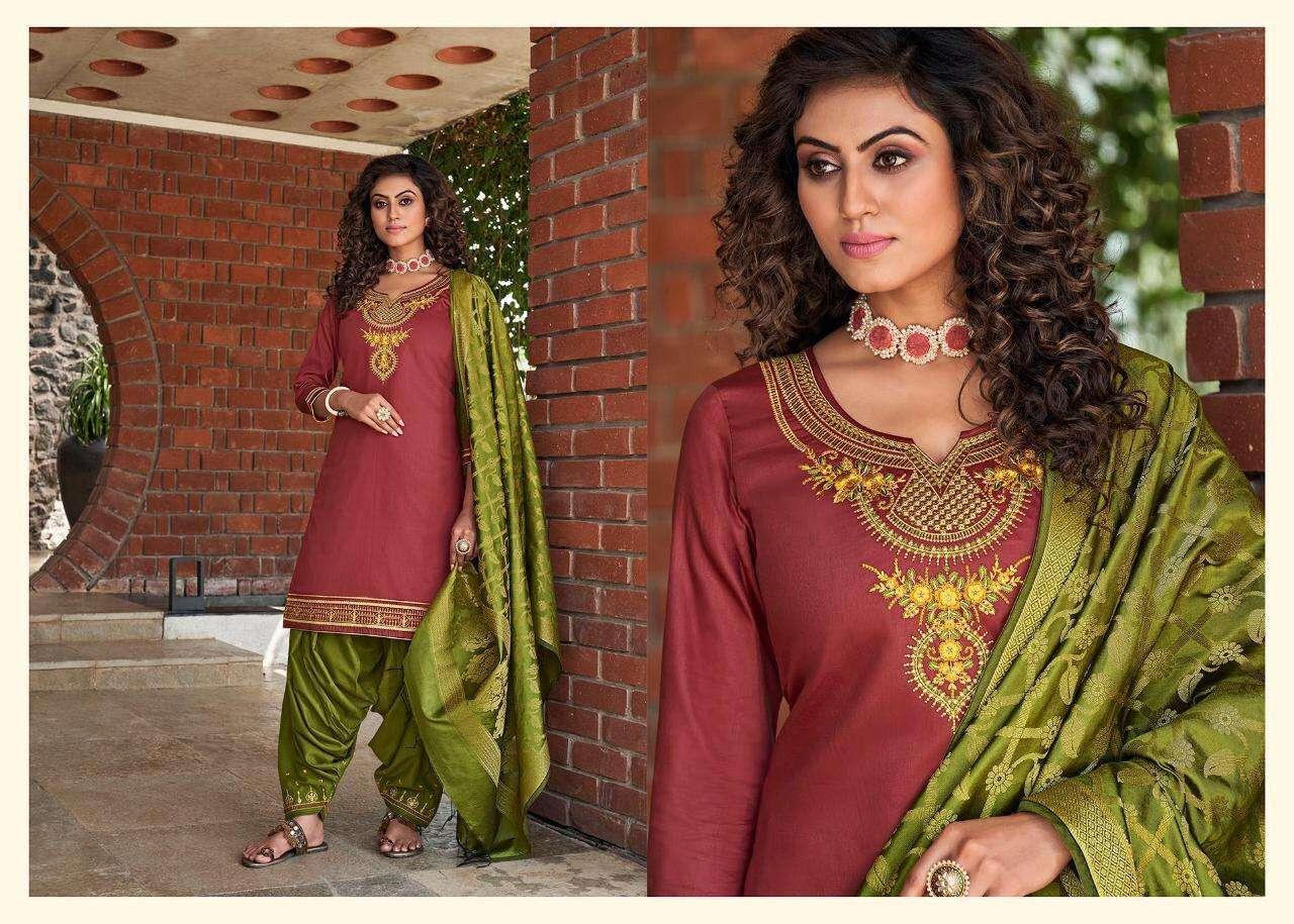Kessi Silk By Patiyala Vol-4 Fancy Punjabi Patiala Suit Collection