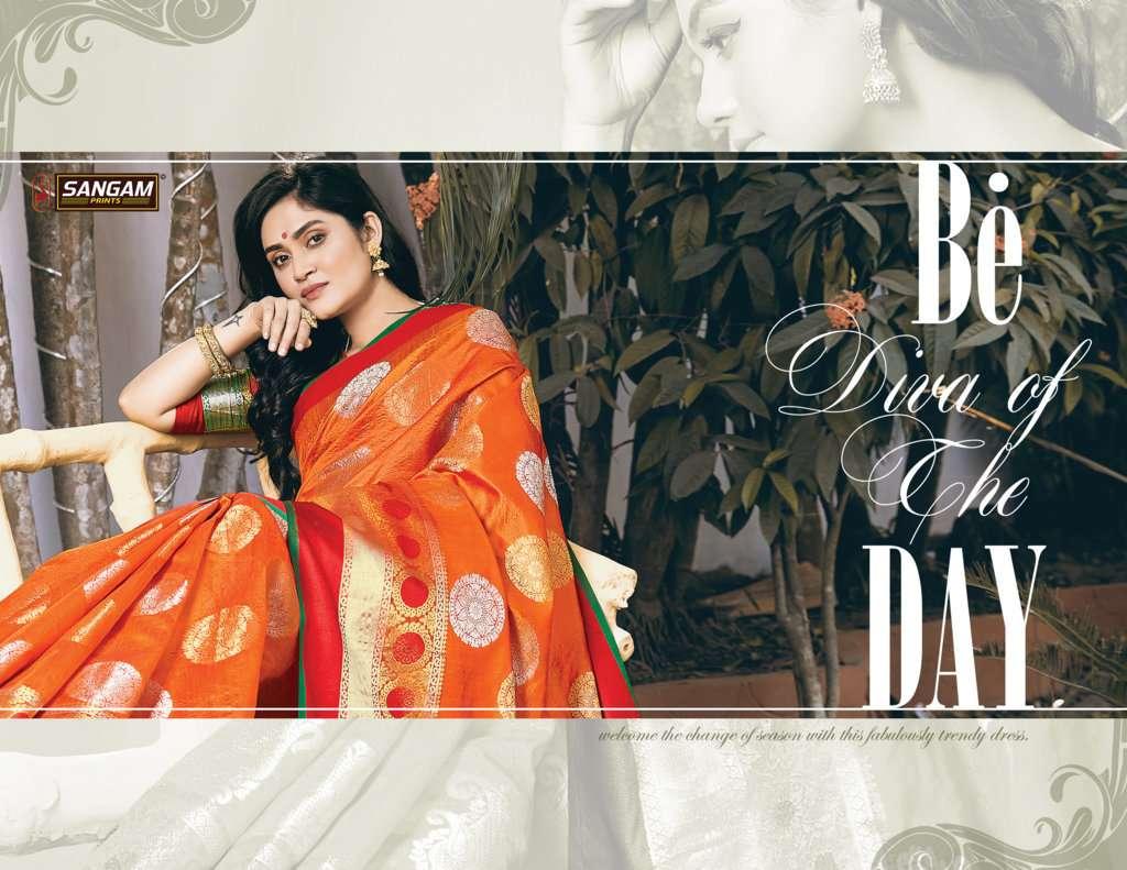 Sangam Paithani Silk Party Wear Sarees Collection