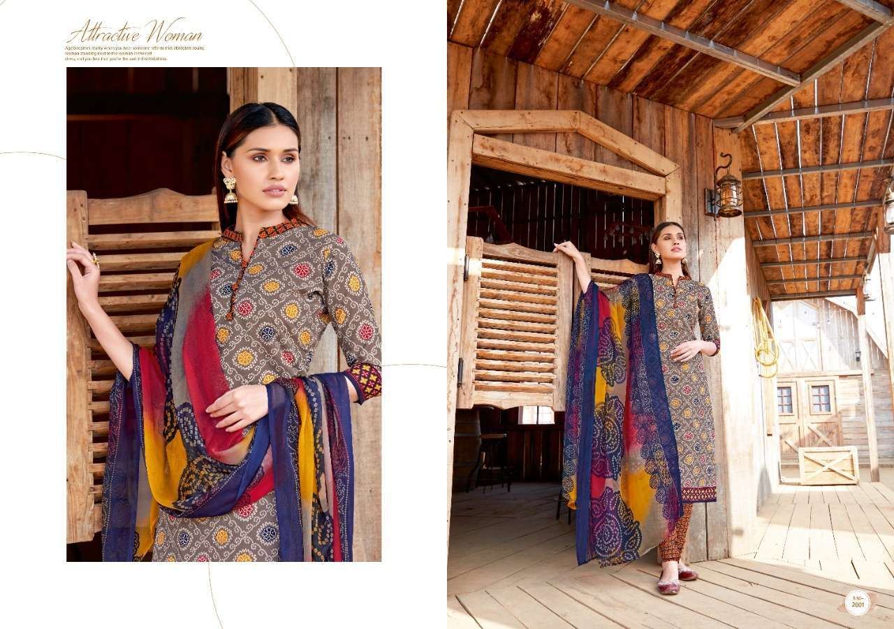 Sweety Kia Vol-2 Cotton Dress Material New Catalog Collection