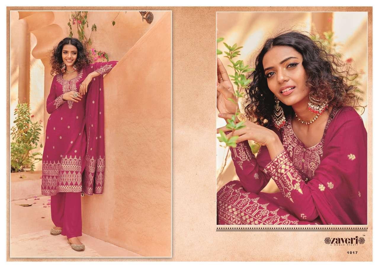 Zaveri Zeenat Exclusive Designer Silk Salwar Suit Collection