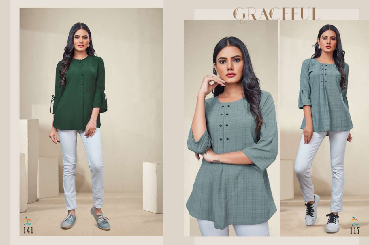 Dovi Fashion Launched Alice Its Summer Western Wear Tops Collection