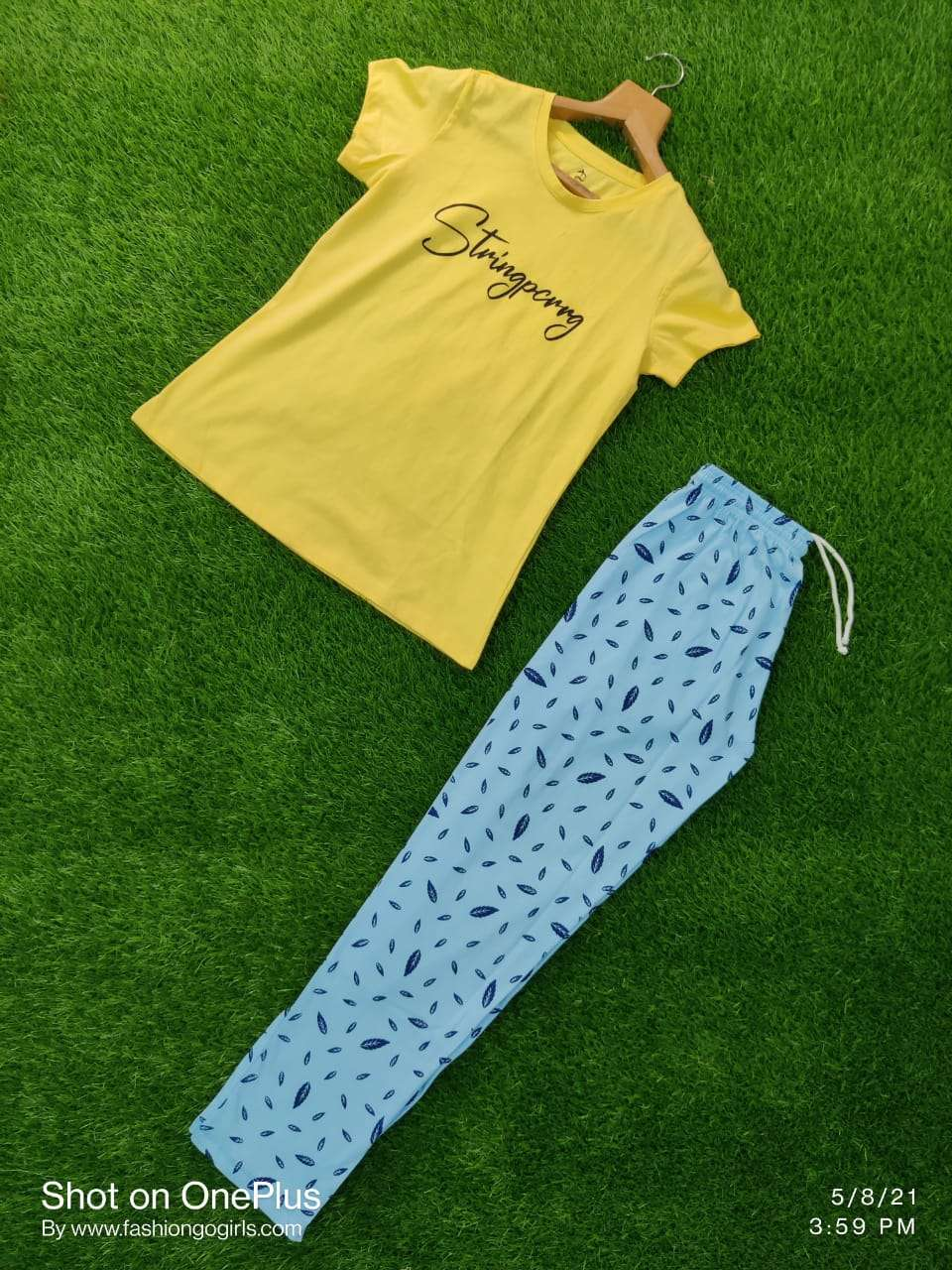Dovi Fashion Launched Premium Quality of T-Shirt With Pajama Night Suit Collection