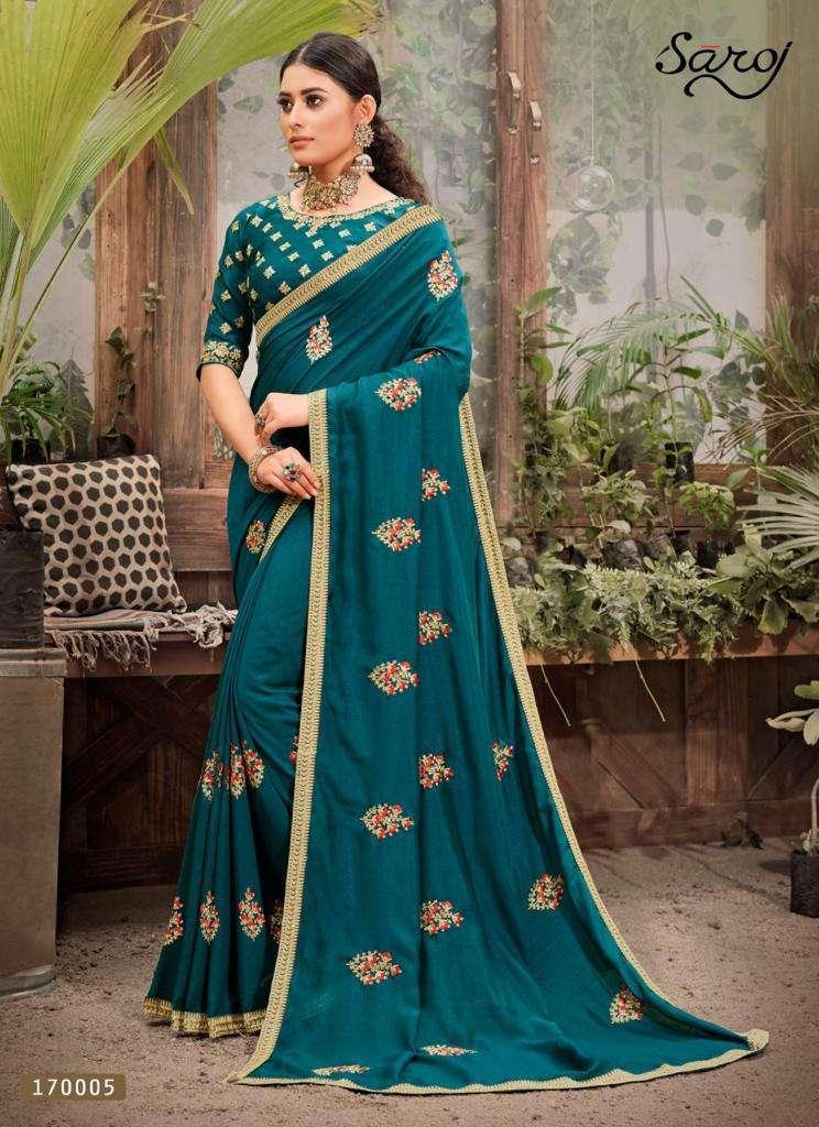 Saroj Sarees - Rose Marry